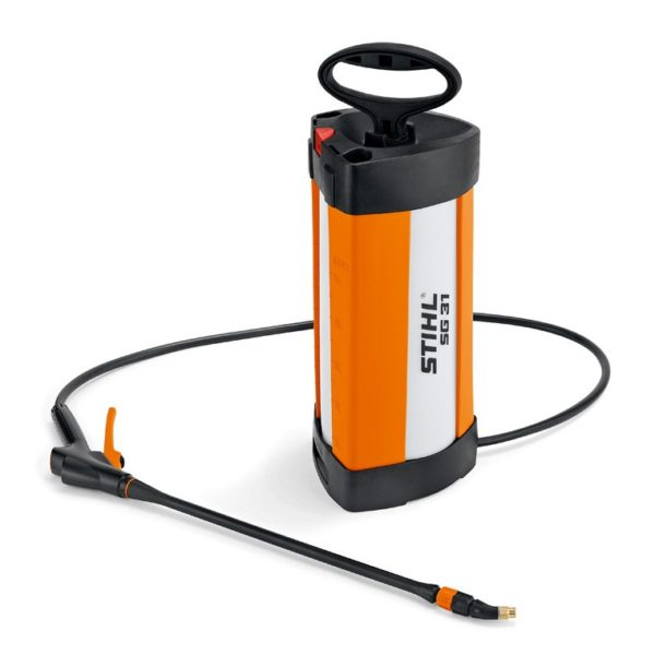 Pulverizador Stihl SG 31 - Pulverizador manual con depósito de 5 litros para cuidar plantas, erradicar maleza, fertilizar y combatir parásitos - La Quinta