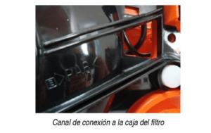 Motosierra Echo CS 353ES, sistema de refrigeración