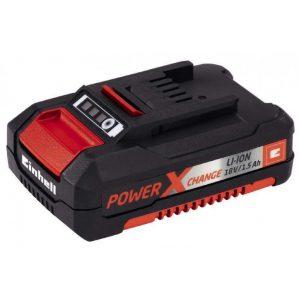 Bateria Einhell Power-X-C 18V 1.5Ah - Batería Recargable De 18V. Apta Para Cualquier Producto Einhell, Poseen Sistema Einhell Que Permite Una Carga Rápida Y Duradera - La Quinta