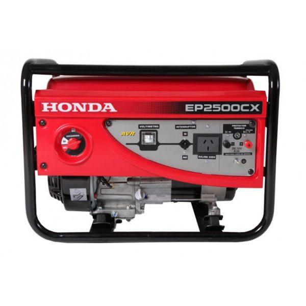Generador Honda EP2500 CX Deluxe - Poderoso Generador 2.2 Kva facil de transportar. Cuenta con un motor de 4 tiempos - La Quinta