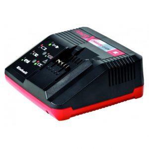 Cargador de Batería Einhell 18 V - Cargador de baterías de 18V de Litio, sirve tanto para las baterías de 3 Ah y 1.5 Ah. Carga inteligente en 30 Minutos - La Quinta