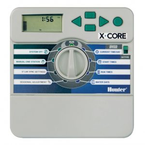 Programador XC-601i - A Hunter - Fácil de usar y de funcionamiento sencillo, especial para residencias. Programador de 6 estaciones con caja plastica - La Quinta