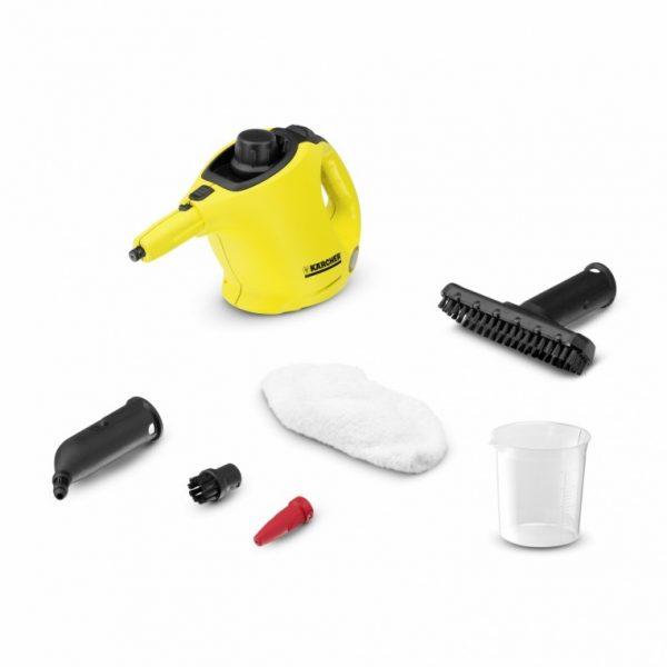 Limpiadora de Vapor Karcher SC1 - La limpiadora de vapor manual SC 1 es, gracias a su tamaño compacto, ideal para la limpieza de mantenimiento rápida sin productos químicos - La Quinta