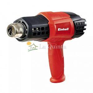 Pistola de calor Einhell RT-HA 2000 E - Moderna y Potente pistola de calor con temperatura y caudal ajustable. Posee un mango muy cómodo y control de sobrecalentamiento - La Quinta