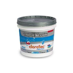Pastillas De Triple Acción - Clorotec 10 Kg - Pastillas de Triple Acción - La Quinta