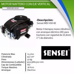 Motor Vertical   Sensei MEV 450 AE