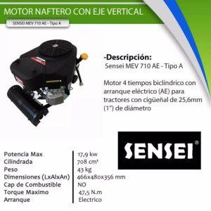 Motor Vertical | Sensei MEV 710 AE Tipo A