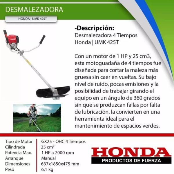 Motoguadaña | Honda UMK 425T
