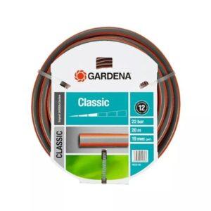 Manguera | Gardena Classic 3/4 19mm - Cuenta con una longitud de 20 metros y un diámetro de 19 mm - La Quinta