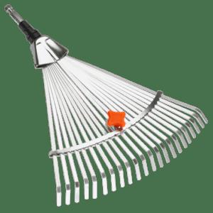 Barrehojas Regulable Gardena CombiSystem, de púas de acero galvanizado son inoxidables