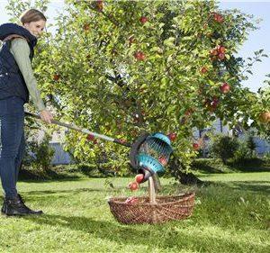Recolector Frutas Gardena 03108-20, vaciado sencillo