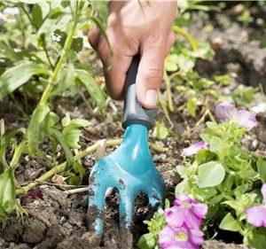 Tridente Jardinería Gardena 8952-20, acero de alta calidad