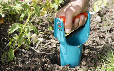 Plantadora Bulbos Gardena 3412-20,protección anticorrosión.