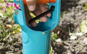 Plantadora Bulbos Gardena 3412-20,fácil de usar