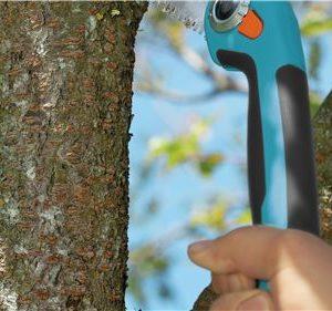 La Sierra Plegable Gardena 200P es muy segura de usar