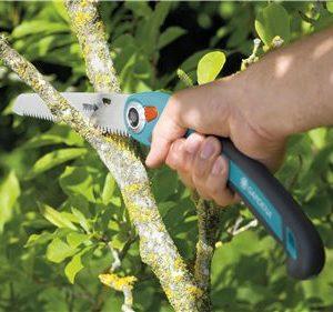 Sierra Plegable Gardena 200P cuenta con triple filo