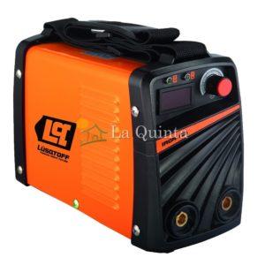 Soldadora Inverter | Lusqtoff Iron 180 - Para uso hogareño, talleres pequeños y medianos. Capaz de diluir 4 electrodos hasta 4 mm cada 10 minutos - La Quinta